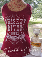 WHISKEY RIVER TOURS NEVER RUN DRY EXCLUSIVE HEART OF AN OUTLAW TANK