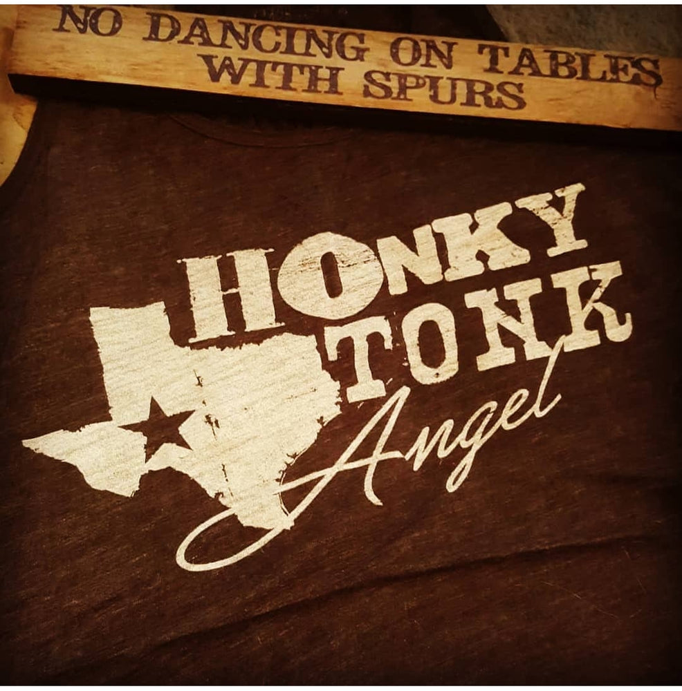 HONKY TONK ANGEL - HEART OF AN OUTLAW EXCLUSIVE TANK