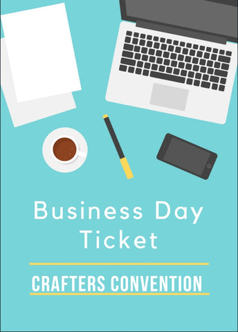 BUSINESS DAY TICKET THURSDAY JUNE 27TH 2019