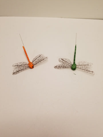 "4"" DRAGONFLY 2 PK ASSORTED COLORS"