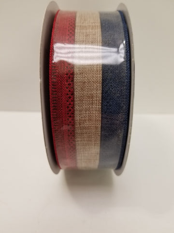 1.5X10 RED WHITE BLUE NATURAL STRIPE