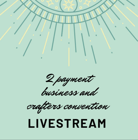 2 PAYMENT 2020 LIVESTREAM BUSINESS AND CONVENTION TICKET