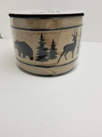 4X10 MOOSE/DEER RIBBON