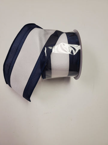 2.5X10 NAVY/WHITE STRIPE