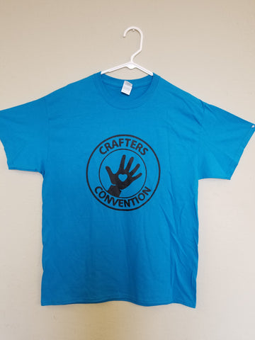2019 CRAFTER CONVENTION BLUE TSHIRTS