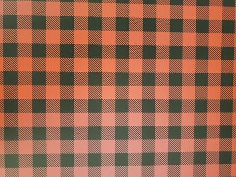 "STAHLS CAD-CUT HTV VINYL  20"" X 12"" SHEET BUFFALO PLAID RED/BLK"