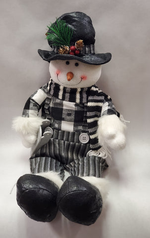 MIDNIGHT FROST SNOWMAN