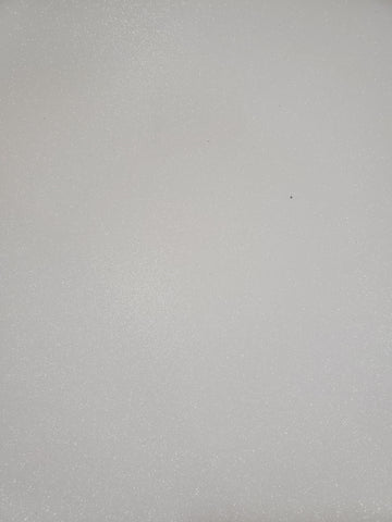 17 X 23 GLITTER FOAM SHEET WHITE