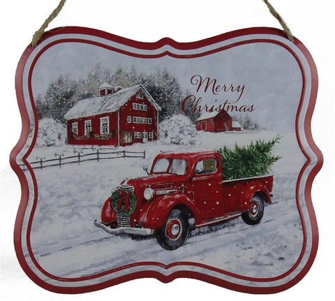 "7""W X 5""H TRUCK/FARMHOUSE SIGN SQUARE"