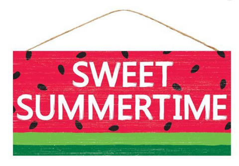 WATERMELON WOODEN SIGN