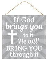 "10""SQ GOD BRINGS YOU THROUGH SIGN"