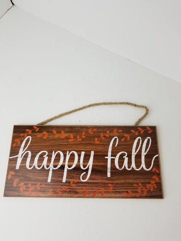 15X6 HAPPY FALL SIGN