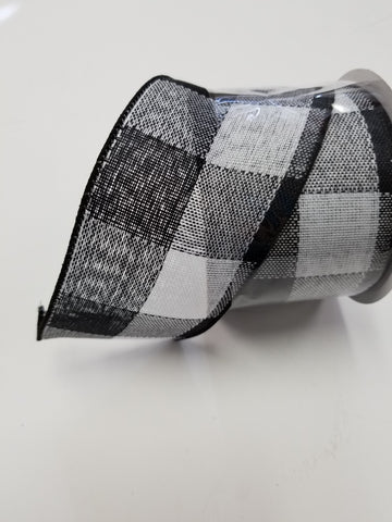 2.5X10 BLACK PLAID