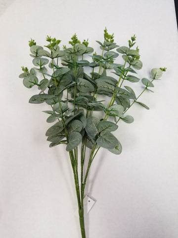 "20"" SILVER DOLLAR EUCALYPTUS GREENERY PICK 16X STEM"