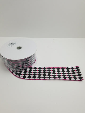 DIAMOND DOT  FUCHSIA 2.5 X 25 YD