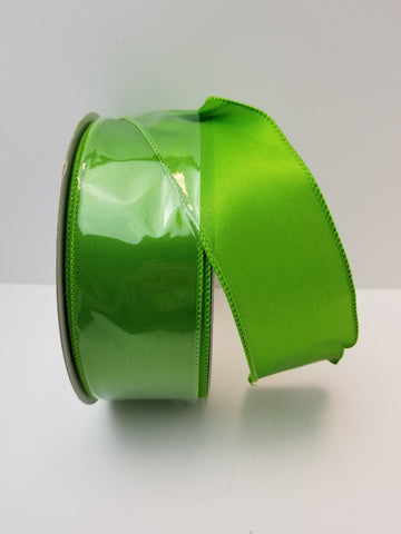 SATIN VALUE CITRUS GREEN 2.5X50