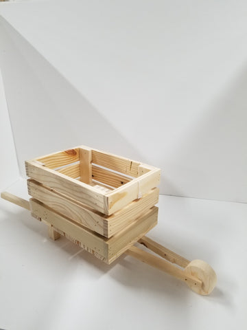 HAND CRAFTED WHEELBARROW