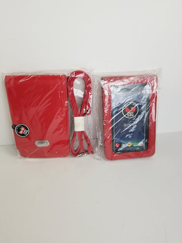 CLASSIC COLLECTION RED Cell phone purse