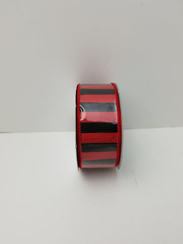 RED BLACK STRIPE 1.5X10