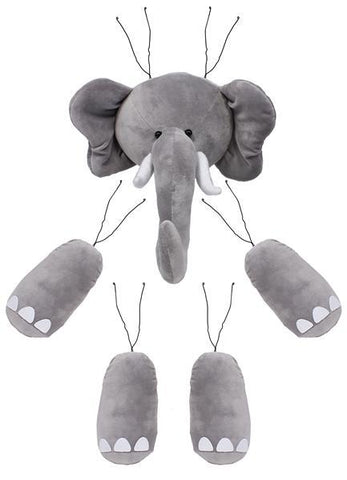 5PC ELEPHANT WREATH KIT