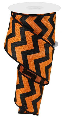 2.5X10 WIDE CHEVRON CROSS ORANGE/BLK