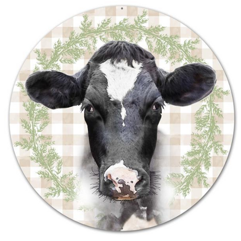 "12"" COW SIGN"