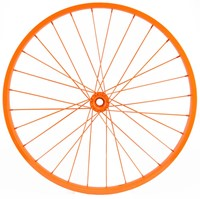 "20""Dia Decorative Bicycle Rim ORANGE"