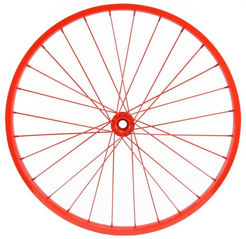 "20""Dia Decorative Bicycle Rim RED"