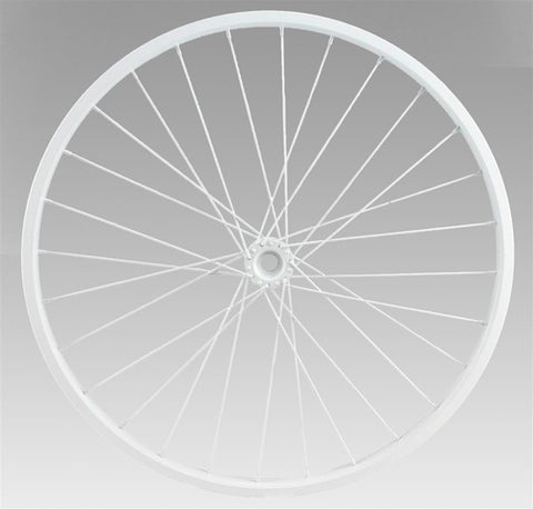 "20""Dia Decorative Bicycle Rim WHITE"