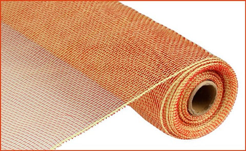 "21""X10yd Two Tone Mesh Red/Yellow"