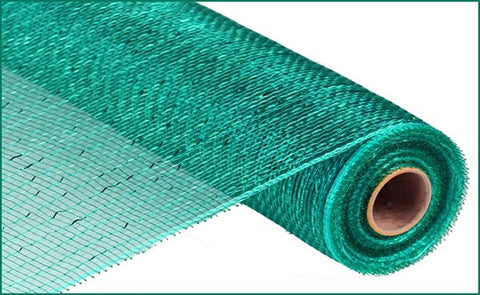 "21""X10YD METALLIC MESH TEAL"