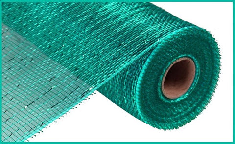 "10.25""X10YD METALLIC MESH TEAL"