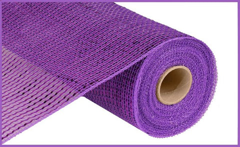 "10""X10yd Deluxe Wide Foil Mesh Royal Purple"