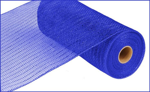 "10""X10YD METALLIC VALUE MESH ROYAL BLUE"