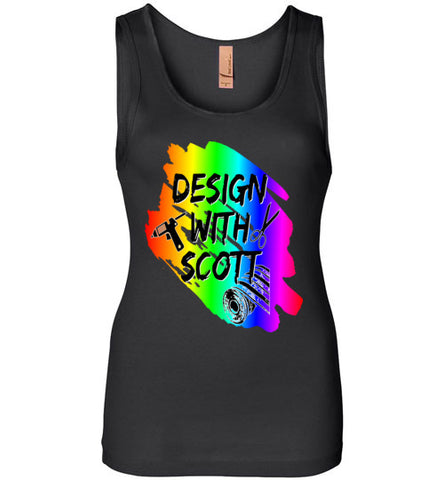 Design With Scott Logo Tank