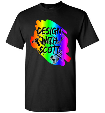 Design With Scott Logo Shirt