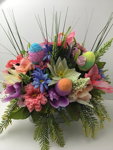 SPRING EASTER EGG CANDY BOUQUET