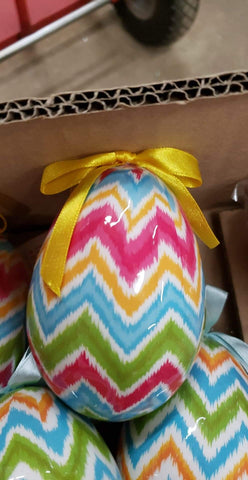 CHEVRON EGGS 4""