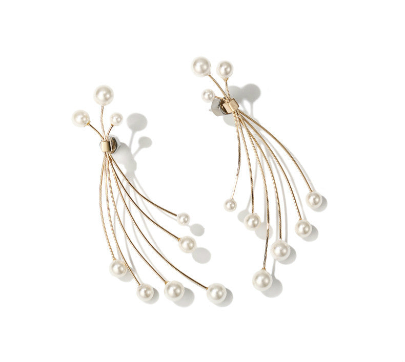 Love Explosion Pearl Earrings