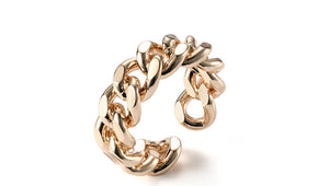 Braided Beauty Ring (Adjustable Size)