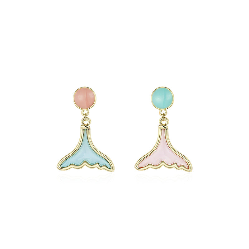 Tall Tail Earrings