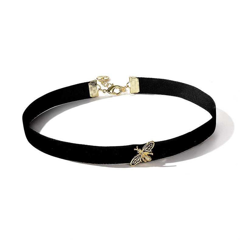 Happy Bee Choker Necklace