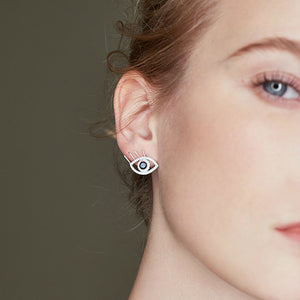 One Eye Open Earrings