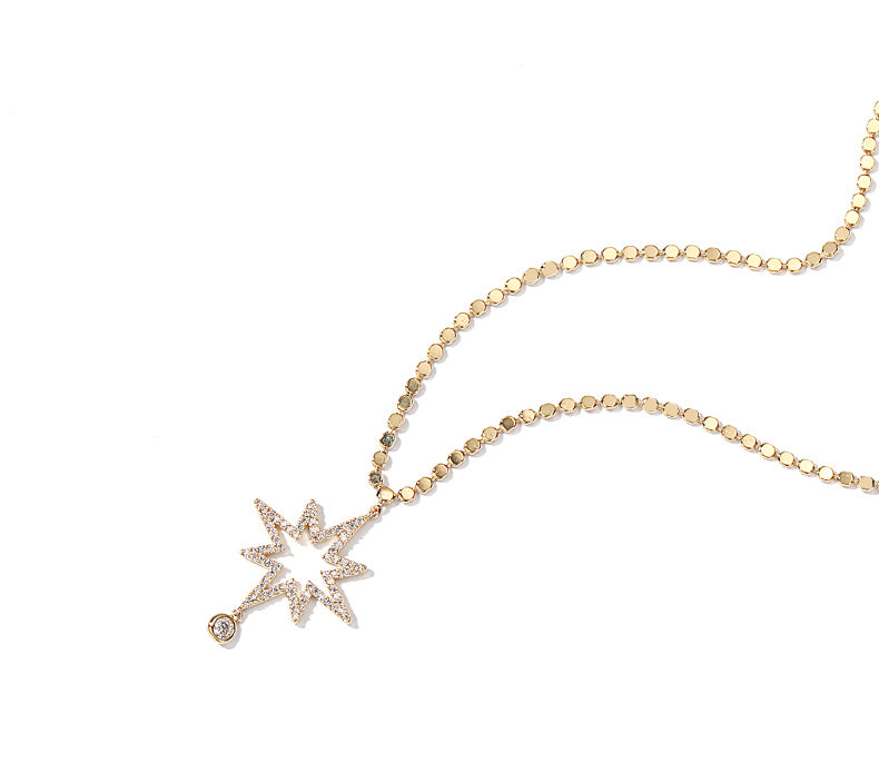 Exploding Star Necklace