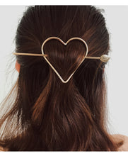 Japanese Style Single Heart Hair Pin