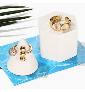 Forget Me Not Rings