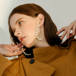 Best is Yet to Come Pearl Earrings