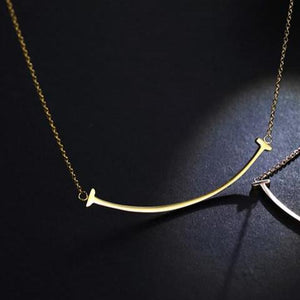 Simple Smirk Necklace
