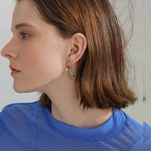 Sunny Day Cactus Earrings
