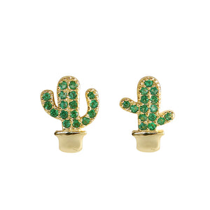 Can-Can Cactus Earrings